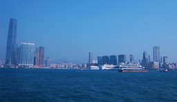 Kowloon and the International Commerce Centre