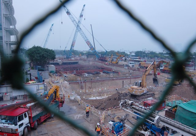 Construction in Central