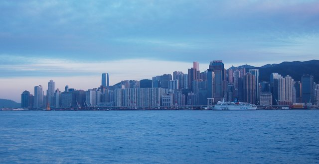 North Point and Victoria Harbour
