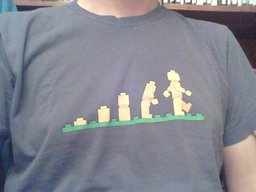 I am sure there's an obvious reason why I took this picture of my t-shirt