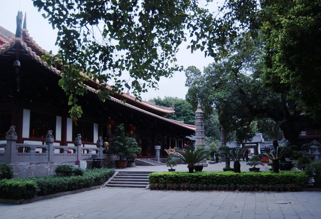 Main prayer hall at Guangxiao Temple