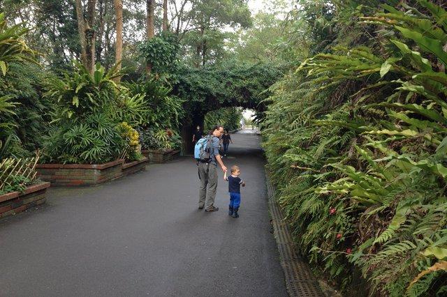 Jaeger and Calvin at the Taipei Zoo