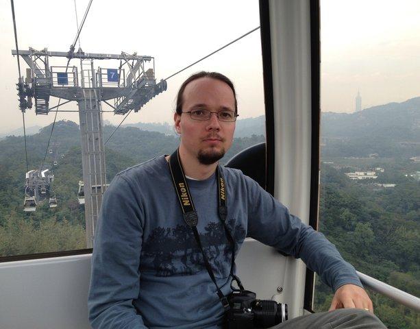 Jaeger in the Maokong Gondola