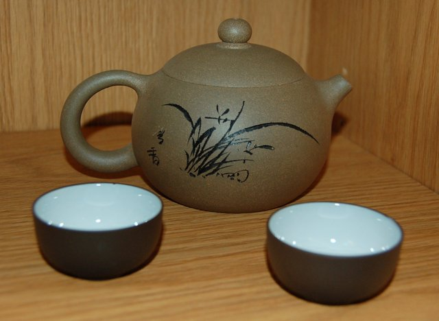 Clay teapot from China