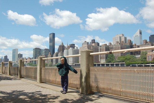 Calvin and Midtown Manhattan