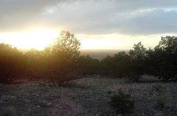 Sunset near the Great Sand Dunes