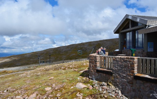 Mountain lodge at CairnGorm Mountain