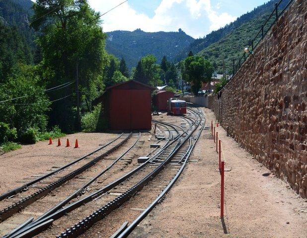 Cog rail yard