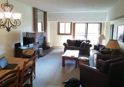 Main living area in Breckenridge condo