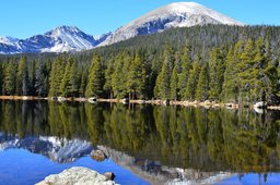 Mount Copeland and Elk Tooth above Finch Lake