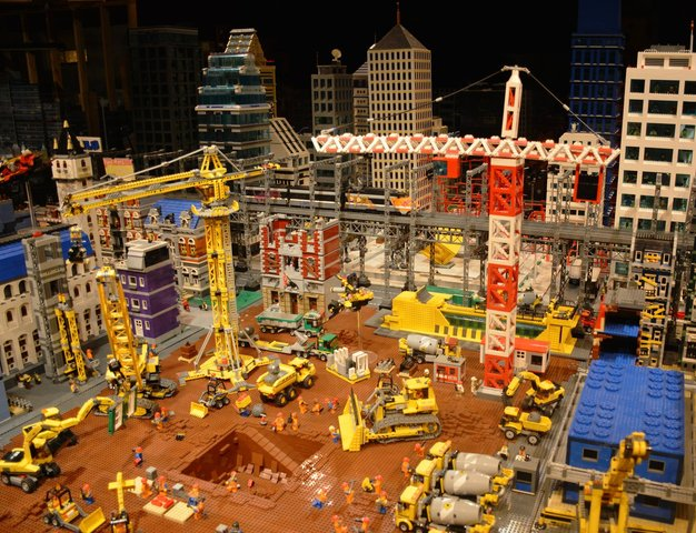Bricksburg construction site