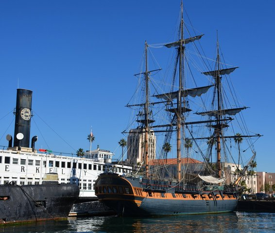 HMS Surprise at San Diego Maritime Museum