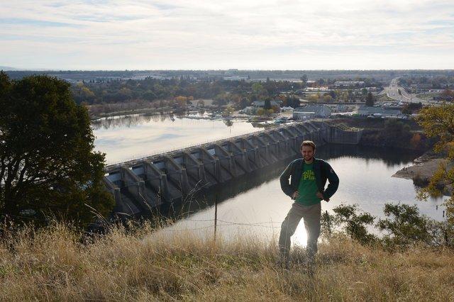 Willy with Nimbus Dam