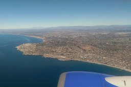 San Diego and La Jolla from the air