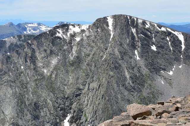 North face of Ypsilon Mountain