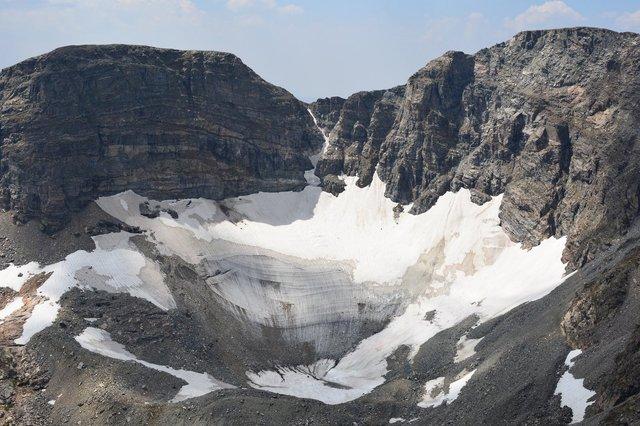 St. Vrain Glacier