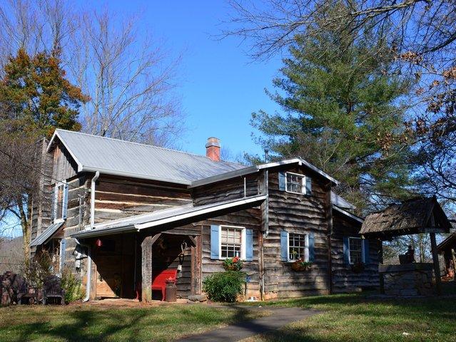 Cabin near Rogersville Tennessee