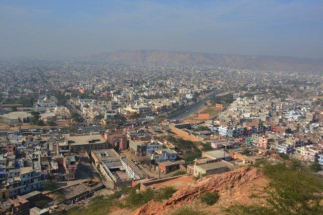 Jaipur from Surya Mandir