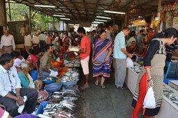 Fish market in Goa