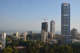 Mumbai from the Taj President