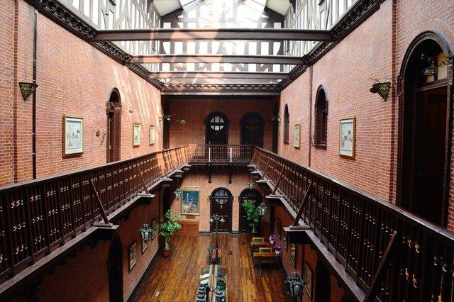 Atrium at the Astor House Hotel