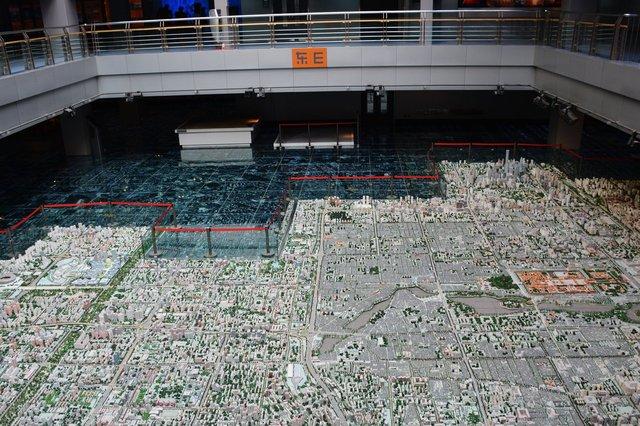 Scale model of Beijing