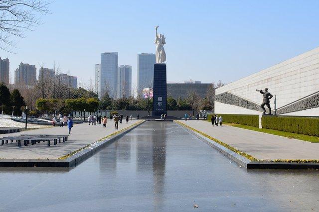 Garden at the Nanjing Massacre Memorial