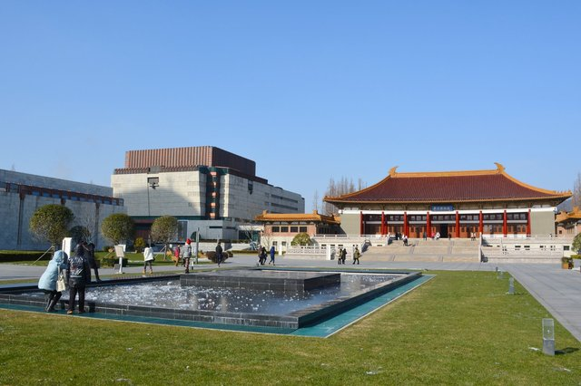 Grounds of the Nanjing Museum