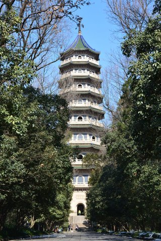 Pagoda at Linggu Scenic Area