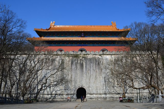 Main building at the Ming Tomb