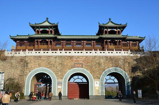 Xuanwumen gate in the Nanjing city walls