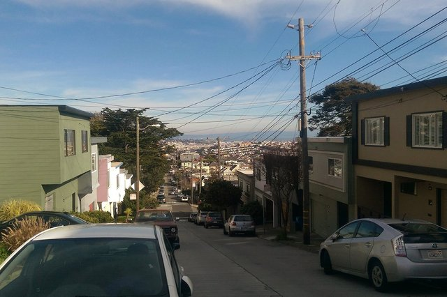 Mangels Ave, Glen Park, San Francisco