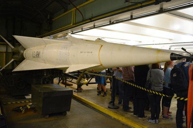 Nike-Hercules bunker at SF-88