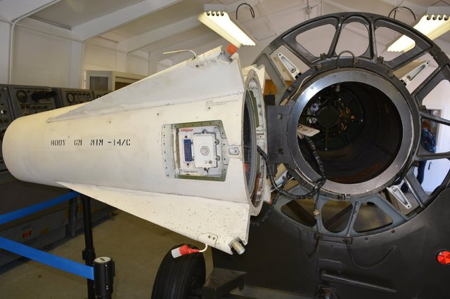 Nose cone of Nike-Hercules missile