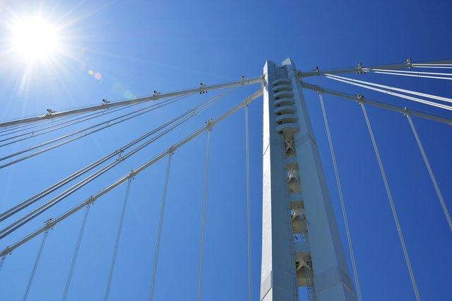 Main tower of the New Bay Bridge