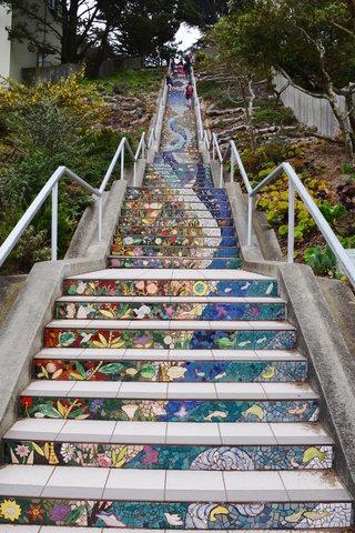 16th Ave Tiled Steps