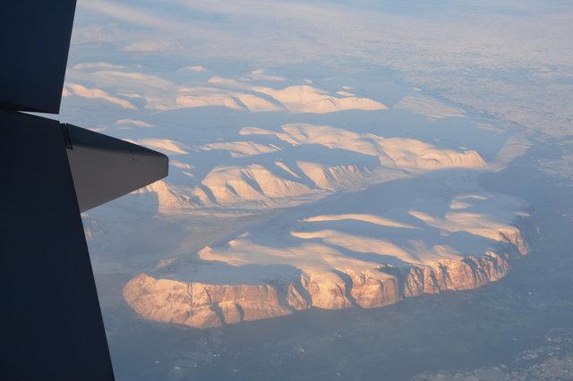 Cliffs on Baffin Island