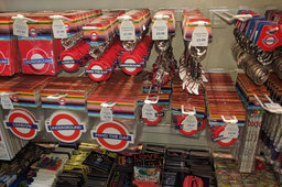 Roundels at the London Transport Museum shop