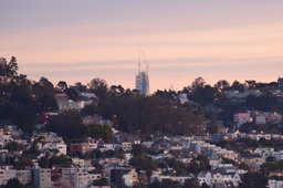 Salesforce tower rises above San Francisco