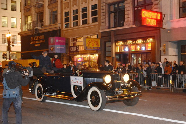 San Francisco Mayor Ed Lee in the Lunar New Year parade