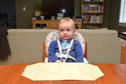 Julian waits for his birthday cake