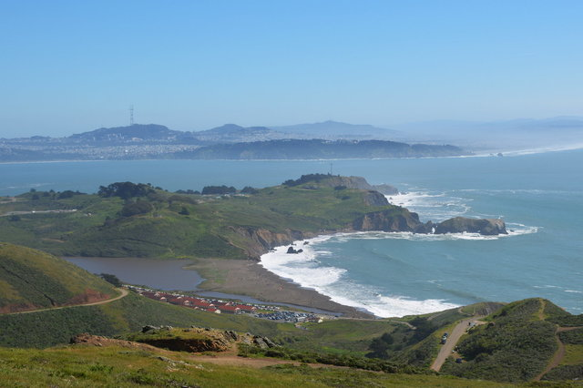 Fort Cronkhite and the Golden Gate