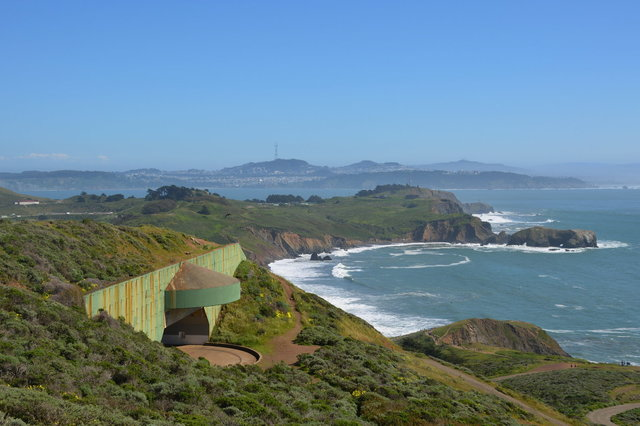Battery Townsley and the Golden Gate