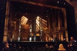 Hamilton stage at the Orpheum Theatre