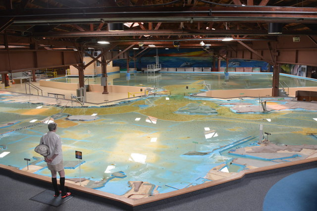 San Francisco Bay and the Golden Gate at the Bay Model