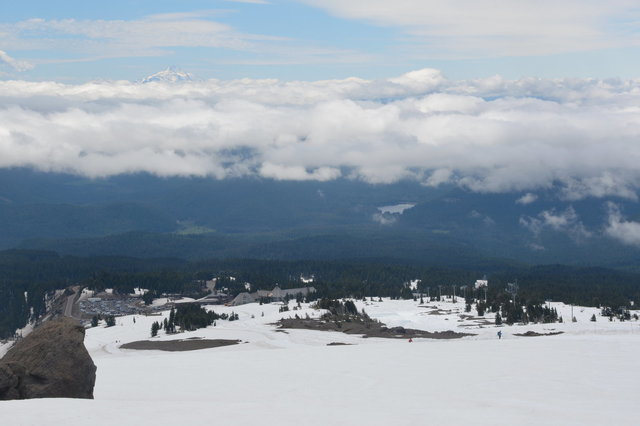 Timberline Lodge and Mount Jefferson