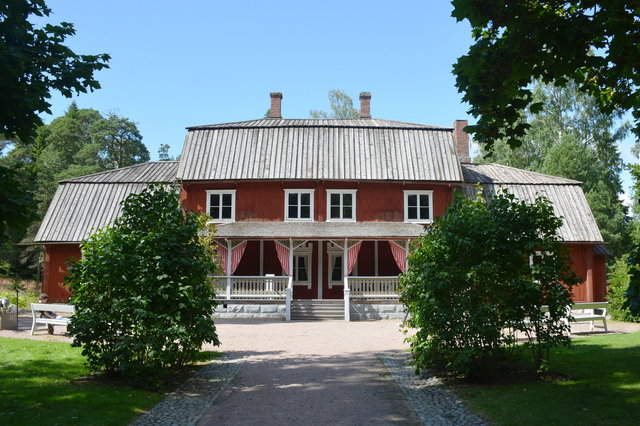 Kahiluoto manor at Seurasaari