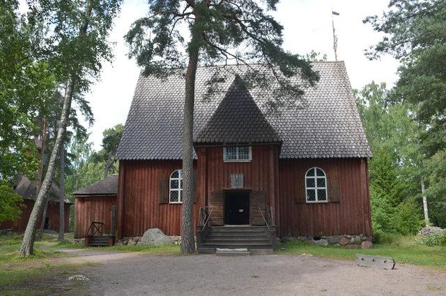 Karuna church at Seurasaari