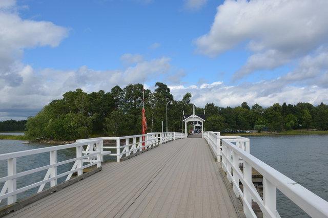 Bridge leading to Seurasaari