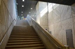 Interior of Louhela Station in Vantaa, Finland